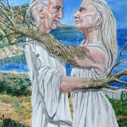 Anadolu efsanesi philemon ve baukis